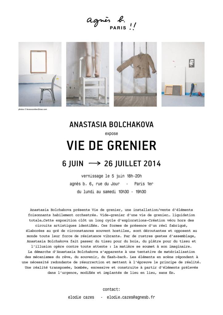 ANASTASIA BOLCHAKOVA / AGNESB