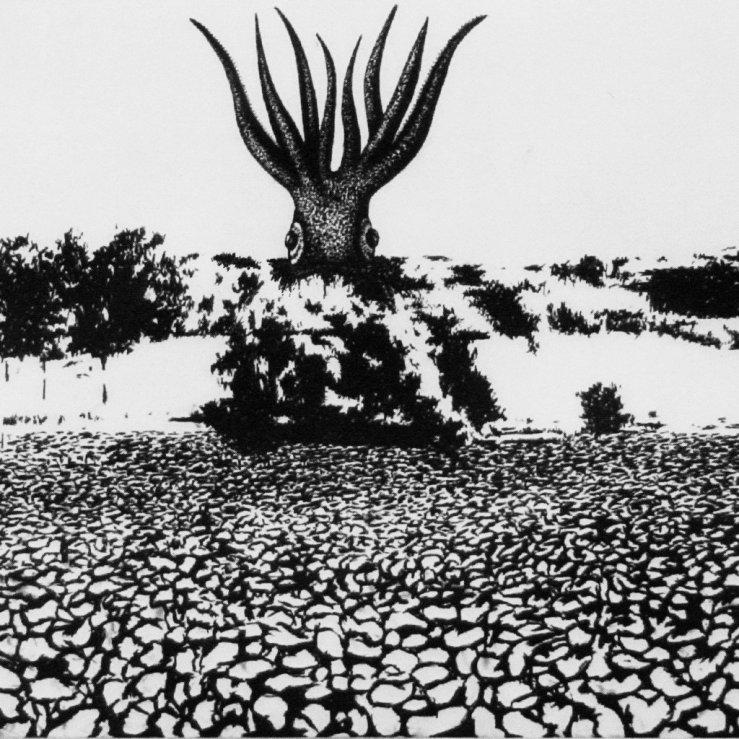 J. Beau & Mokuhen - Paysage accidenté #2 (Tsuku Boshi) - Art by Chloé Poizat